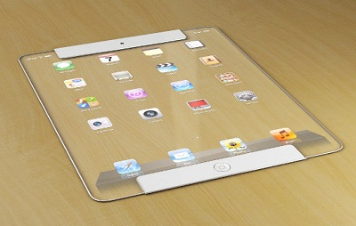 Video concept dell'iPad trasparente