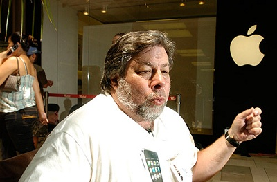 """Wozniak: """"smartphone Apple? Siamo indietro rispetto ad altri"""""""