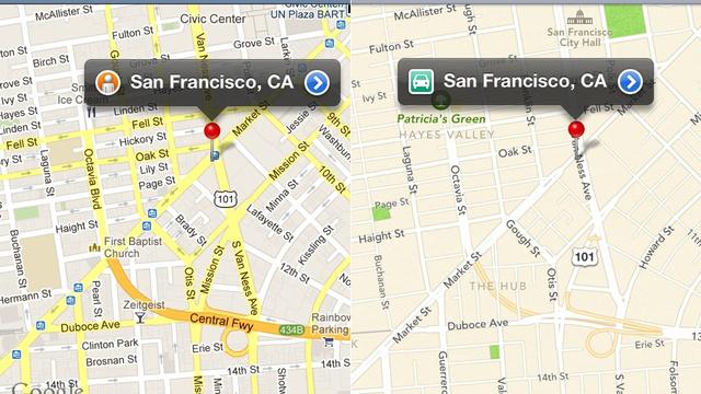 Apple Maps: più preciso di Google e Waze in California