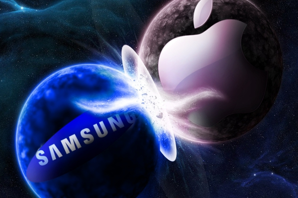 Apple vs Samsung pianeti