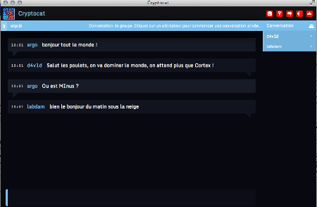 Cryptocat chat sicura Mac