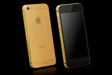Gold Genie: cover iPhone in swarowski tutta italiana