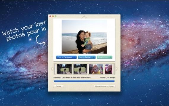Lost Photos: app gratuita per ritrovare foto in email