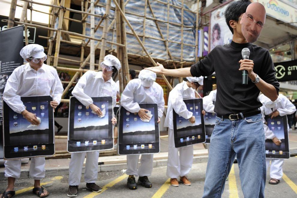 Operai Cina Foxconn