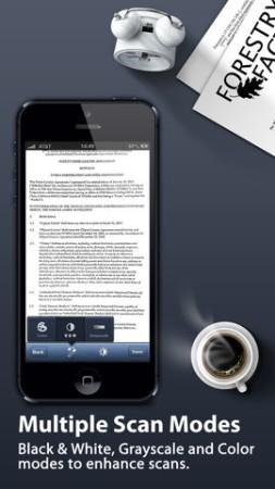 iPhone ed iPad diventano un comodo scanner: arriva TinyScan Pro