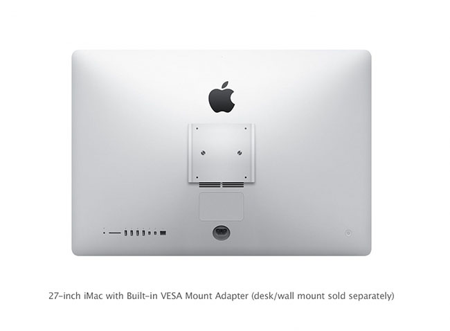 Apple Store Italia: disponibile il nuovo Mac con supporto VESA