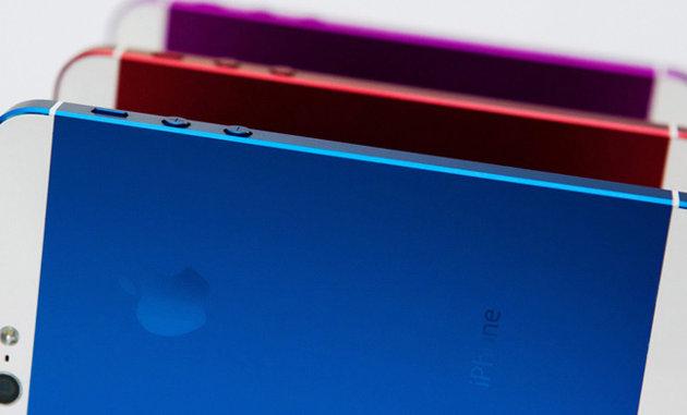 iPhone 5S multicolor