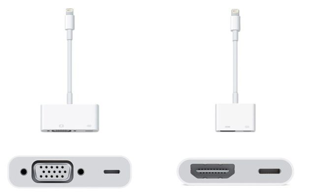 Apple: l'adattore Lightning HDMI vale mezza TV