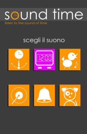 Sound Time Pro: stop al classico orologio, per dispositivi iOS