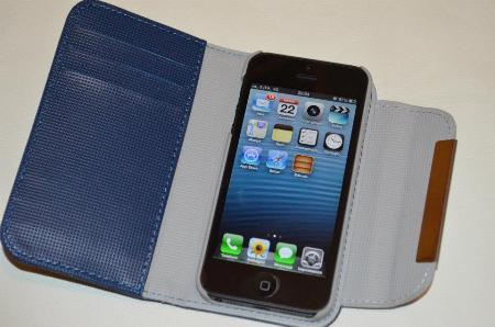 tri-fold custodia portafoglio