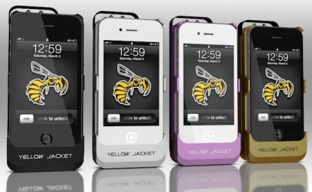 Yellow Jacket: da semplice custodia per iPhone ad efficiente strumento di difesa personale