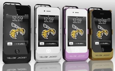 Yellow Jacket: da semplice custodia per iPhone ad efficiente strumento di difesa personale