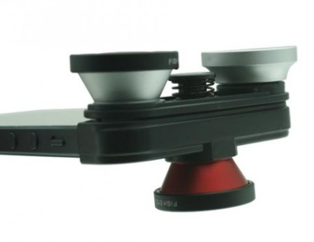 Clip-On Lens Combo: accessorio da fotocamera per iPhone 5