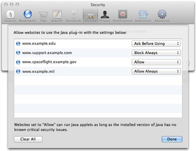 Java 6 aggiornamento