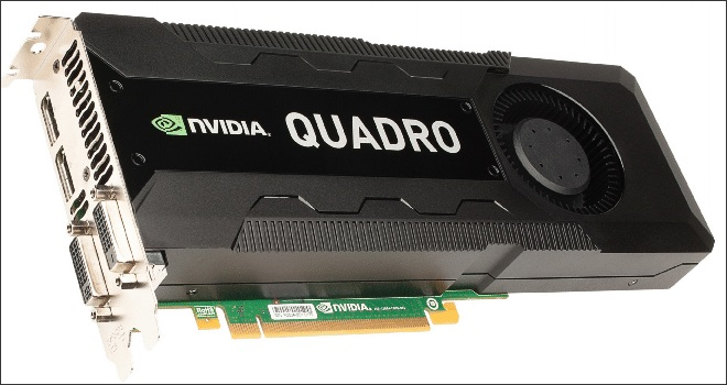 Nvidia Quadro K5000: Apple Store, scheda video da record