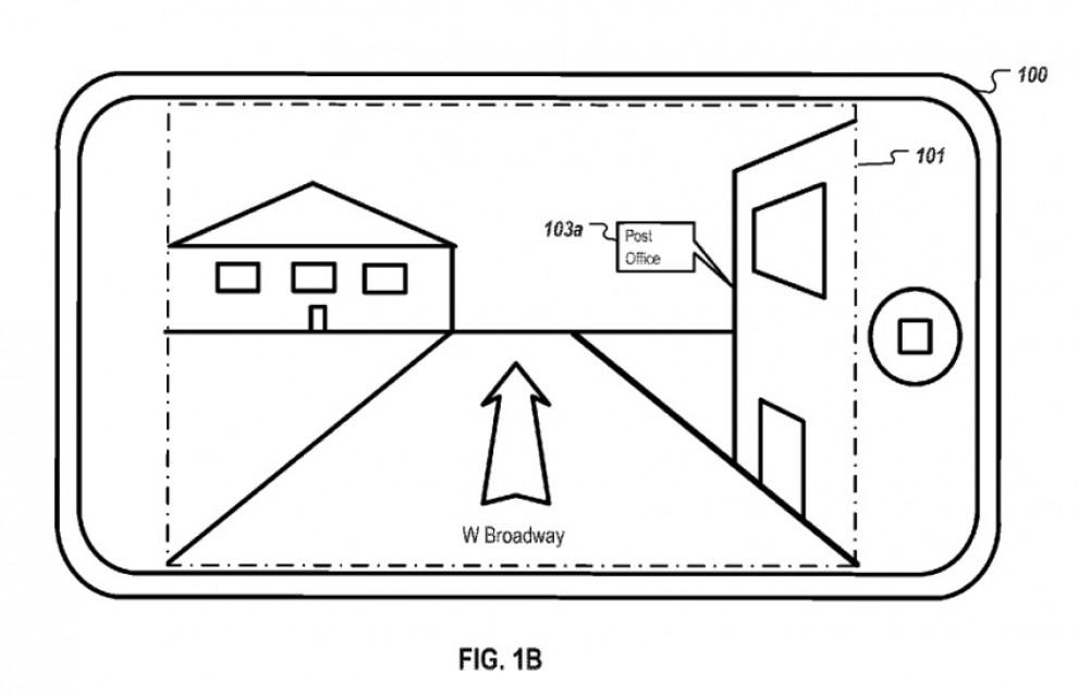 brevetto Apple street view