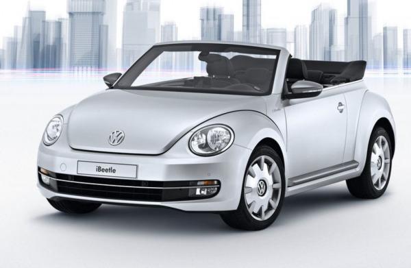 iBeetle: l'auto Volkswagen controllata da iPhone 5