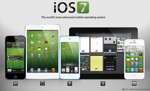 iOS 7: pronto il design minimale di Jony Ive