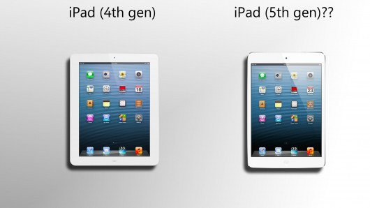 iPad 5 vs iPad 4