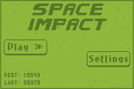 space-impact iPhone