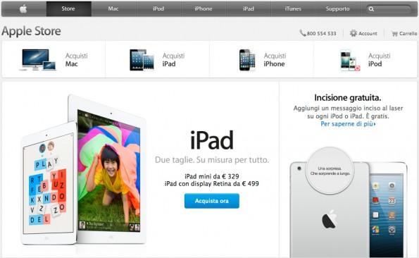 Apple Store: nuovo design e pagamenti Paypal in arrivo