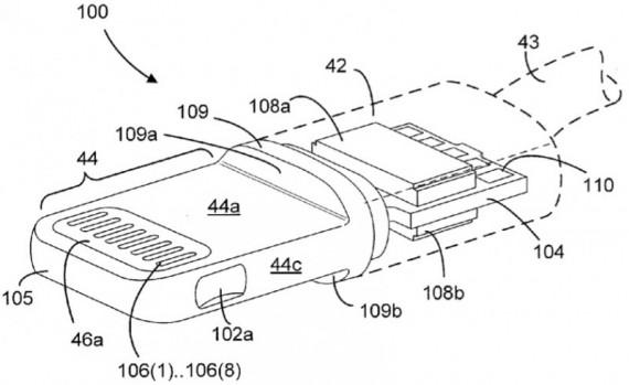 Lightning: Apple deposita 3 nuovi brevetti