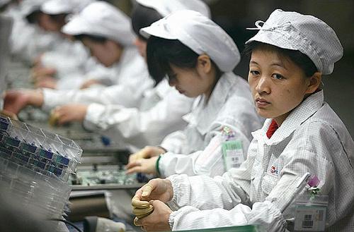 Foxconn Cina operai