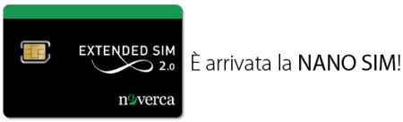 iPhone 5 e Noverca: NANO SIM per il melafonino