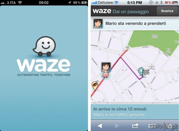 Waze Apple Facebook