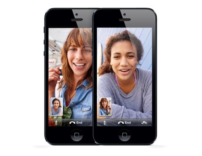facetime iphone 5