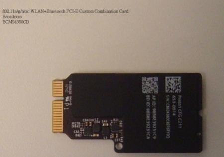MacBook: foto sul web di una gigabit WiFi