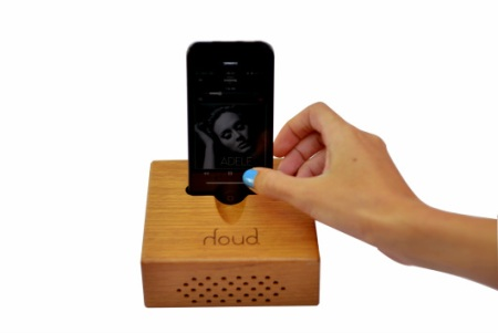 Houd: cassa in legno per iPad e iPhone