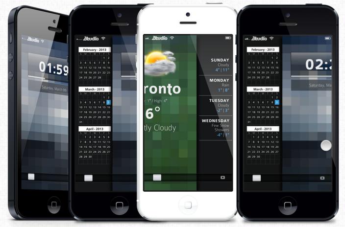 iOS 7 black white