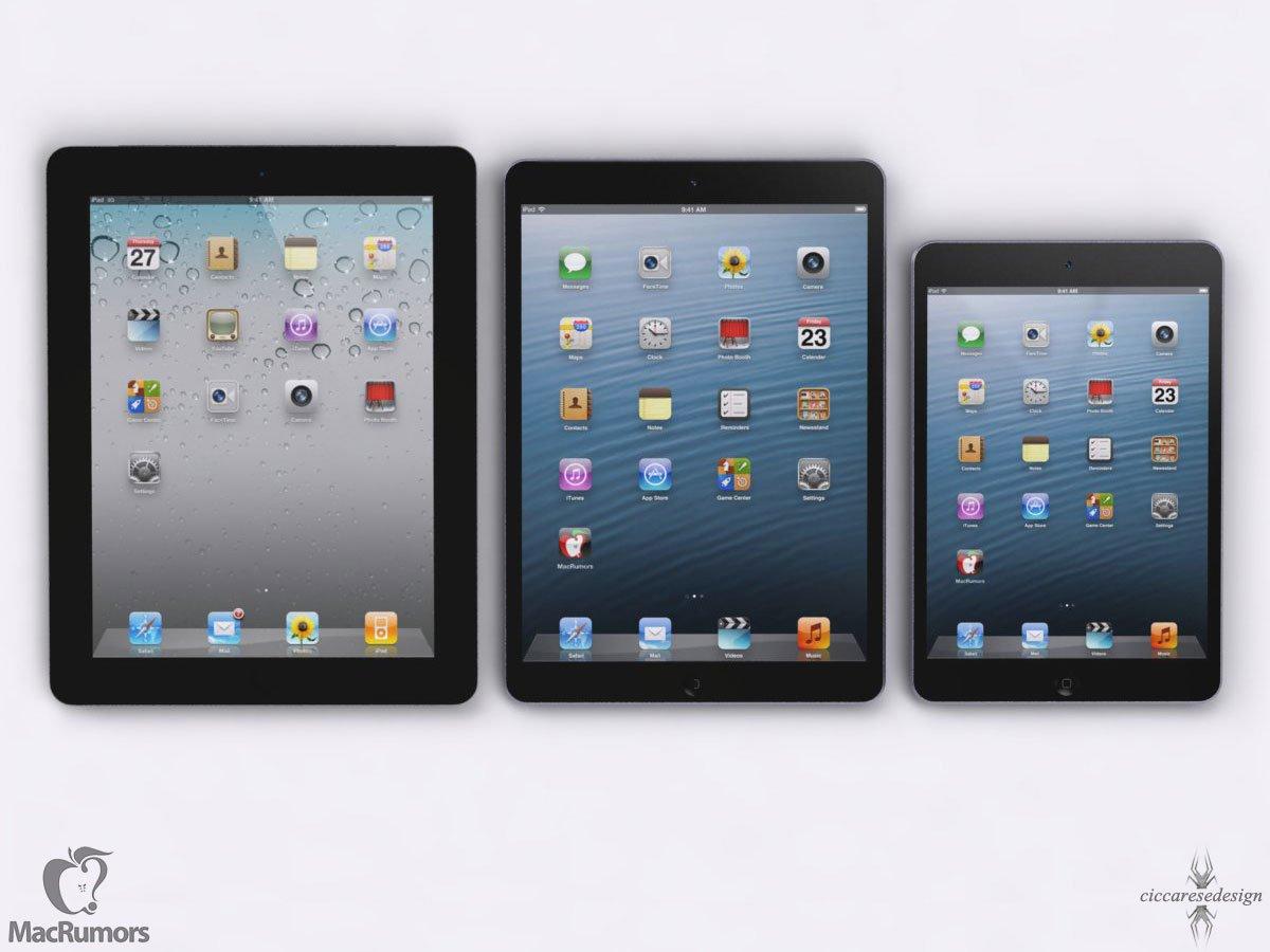 iPad 5 look