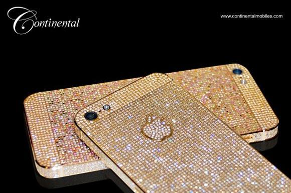 iPhone 5: cover di diamanti by Continental