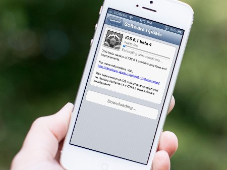 iPhone 5: aggiornamento iOS rapido e necessario