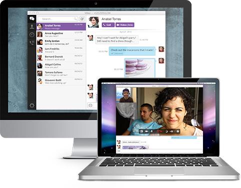 Viber arriva su OS X e Windows