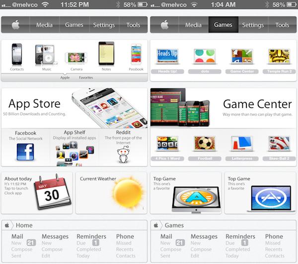 Apple Web OS: nuovo tema disponibile per iDevice