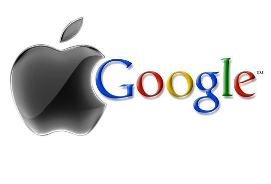Google vs Apple: Big G è la più chiacchierata del 2013