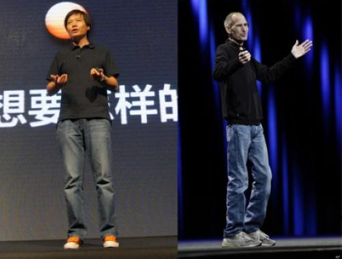 Lei Jun vs steve jobs