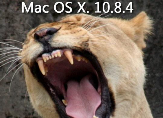 Mac OS X 10 8 4