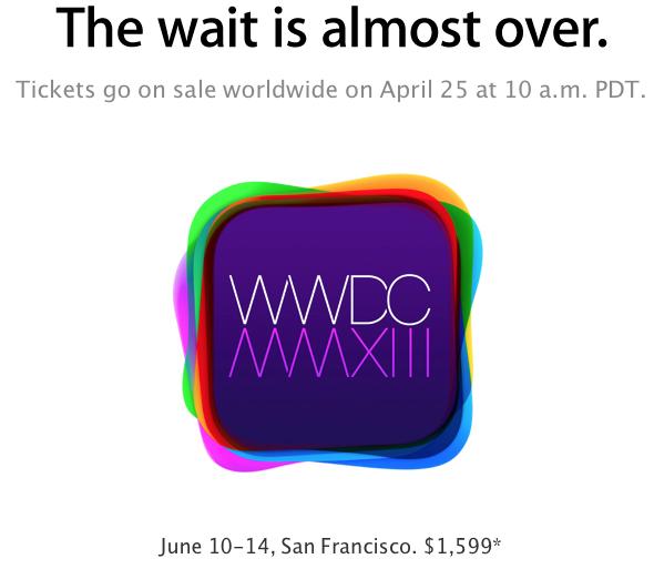 WWDC 2013: niente iPhone 5s, spazio a Mac e iOS 7