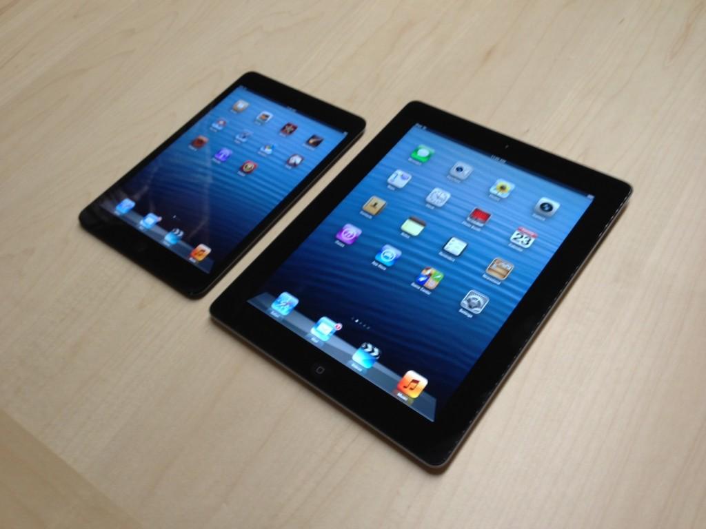 Apple: uscita nuovo iPad 5 e iPad mini 2