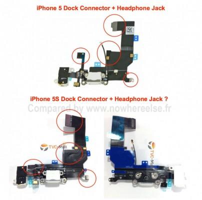 iPhone 5s dock jack