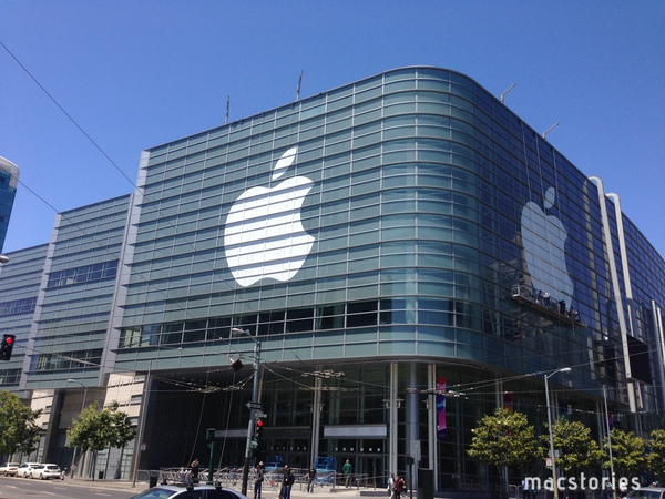WWDC 2013: finiti i preparativi al Moscone Center