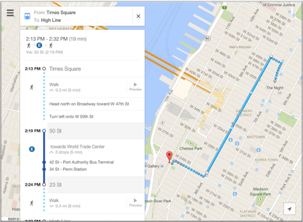 Arriva Google Maps 2.0 per iPad