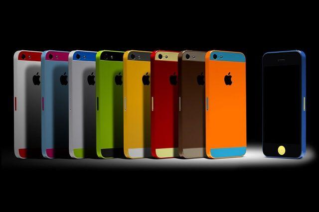 iPhone 5s uscita color