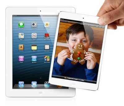 iPad Mini 2: tracce del dispositivo in iOS 7