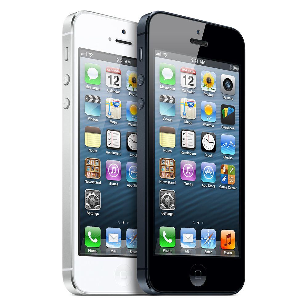 iphone 5 bianco nero