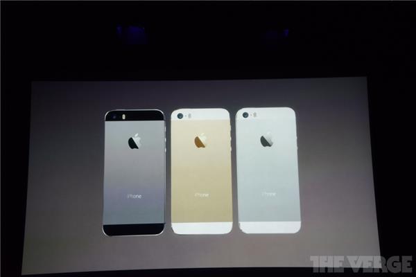Ecco il nuovo iPhone 5S